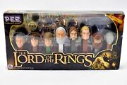 Lord Of The Rings Limited Edition Pez Collector Set Of 8 Candy Dispensers