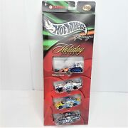 2001 Hot Wheels Nascar Target Exclusive Holiday Racers Kelloggs Snowmobile Cars