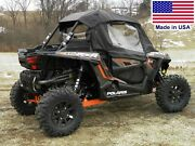 Doors And Rear Window For Polaris Rzr 1000 - Soft - Puncture Proof