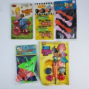 Vintage Dime Store Toys All New Cooking Set Jet Planes Knitting Flying Spinners