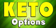 Keto Options Keto Food Restaurant Choose Your Size Perf Window Vinyl Decal New