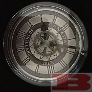 2017 Peace Tower Clock 90th Anniversary 50 5oz Silver Antique Coin Mintage1200