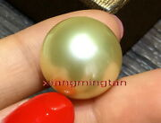 Collectible Top Quality Natural Golden 16-17mm Loose South Sea Pearlpendant