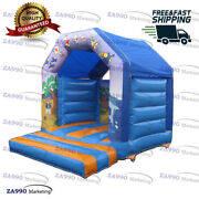 11.5x11.5ft Inflatable Animals Bounce House Castle Bouncy With Air Blower