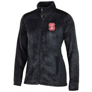 Nc State Wolfpack Ncaa Full Zip Womenand039s Team Logo Flurry Jacket By Champion