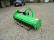 New Talex L150 Mini 1.5m / 4and039 11 Flail Mower / Shredder Topper. Compact Tractor