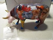 Cow Parade Babe In Toyland 6002 By Westland Rare Retired Nib London Herd