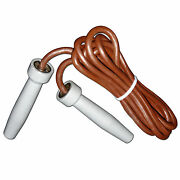 Velo Skipping Speed Rope Leather Fitness Boxing Jump Gym Weight Heavy Handle