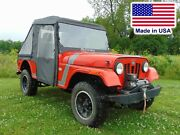 Mahindra Roxor Cab Enclosure - Hard Windshield, Roof, Doors, Rear And Bed Cover
