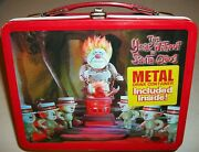 The Year Without A Santa Claus Back Heat Miser Snow Lunchbox Thermos Clause Xmas