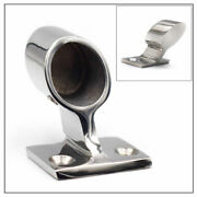 Isure Stainless Steel Boat Hand Rail 60 Degree After Stanchion For Pipe 7/8and039and039