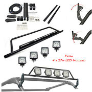 27w Adjustable Roof Light Mounting Bar /2 Adapt / With 4 Led Can-am Commander