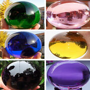 100mm To 200mm Round Glass Crystal Ball Sphere Buyers Select The Size