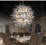Led Hanging Chandeliers Luxury Style Home Ceiling Lighting Lamp Crystal Fixtures