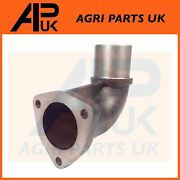 Exhaust Elbow For Massey Ferguson 30 690 Tractor And Perkins A4.212 A4.236 Engine