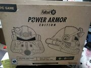 New Fallout 76 Power Armor Helmet Collectors Edition Pc Video Game Bethesda