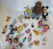 Disney Characters Cake Toppers 1.5-6 Toys Doc Mcstuffins Mickey Daisy Duck