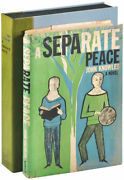 John Knowles-a Separate Peace 1960-1st Ed-advance Copy W/trial Jacket-rare