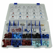 Master R134a Ac Valve Core And Cap Assortment Kit - 23 Styles / 188 Pieces