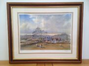 Signed Limited Edition Print Borderlands By Allan Macdougal - 24/500 53x43cm