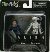 Alien Covenant Tennessee And Neomorph Action Figure Minimates Diamond Select