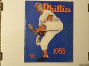 1955 Philadelphia Phillies Baseball Yearbook Autographed By All 36 Players Rare