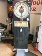 Vintage Guess Your Weight Carnavil Coin Op Scale