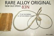 Alloy Gm 83n Emergency Parking Brake Cable Antique Vintage Classic Domestic Nors