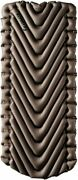 Klymit Static V Luxe, Oversized Sleeping Pad, Extra Wide 76 X 30, Grey