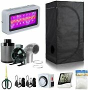 Bloomgrow 24and039and039x24and039and039x48and039and039 Grow Tent + 4and039and039 Inline Kit