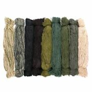 Synthetic Ghillie Thread Bundles - 20 Length - Choose From 9 Colors