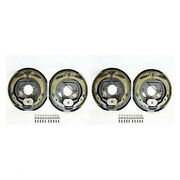 2 12 X 2 Trailer Electric Brake Assembly 2 Right + 2 Left