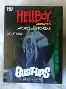Hellboy Animated Sword Of Storms Lightning Bust-ups Gentle Giant New Sealed Up