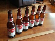 Drewrys South Bend, In Red Top Stop For Redtop Lot Of 6 Beer Bottles Ball