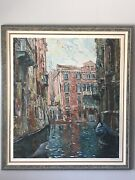 Marco Sassone Limited Edition Lithograph- Vintage Italian Modern Impressionist