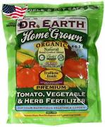 Dr. Earth Organic 5 Tomato, Vegetable And Herb Fertilizer Home Grown 1lb - 4lb Bag