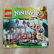 Lego - Instructions Booklet Only Temple Of Light - Ninjago - 70505
