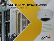 New Axis M3037-pve Ip Compact Fixed Mini Dome Camera 5mp0548-001