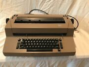 Ibm And Font Balls, Correcting Selectric Typewriter. Font Balls Included.