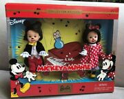 New Barbie - Kelly And Tommy As Minnie And Mickey Mouse 2002 Disney Mattel