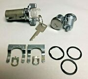 New 1979-1987 Chevrolet C/k Series Truck Ignition And Door Lock Set With Gm Keys