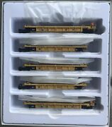 Walthers Mainline Ho Thrall 5-unit Rebuilt 40' Well Car Dttx 748213a-e 910-55613