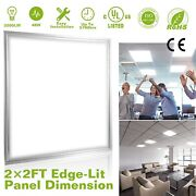 2x2ft Led Panel Light 48w 3200 Lumens 7500k Troffer Recessed Ceiling - 1 Panel