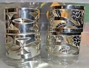 Taxco 4 Piece .925 Sterling Silver Napkin Ring Holder - Free Shipping