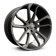 22 Hawke Falkon Grey Alloy Wheels And Tyres For Range Rover Vogue And Sport