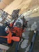 1967 327 Small Block Engine And 3 Speed Manual Transmission / Runs