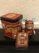 Disney Vinylmation San Francisco Trolley 3andrdquo In Figure Includes Collectible Tin