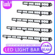 16/ 27/ 38/ 43/ 54 Inch Straight Led Work Light Bar Combo Lamp Offroad 4wd Truck