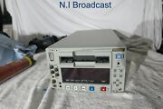 Sony Dsr1500ap Dvcam Recorder And Player With Sdi 4x10 Drum Hours
