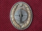 Yugoslavia - Yugoslav Army - Shooting Instructor Breast Badge With Number - Rrr